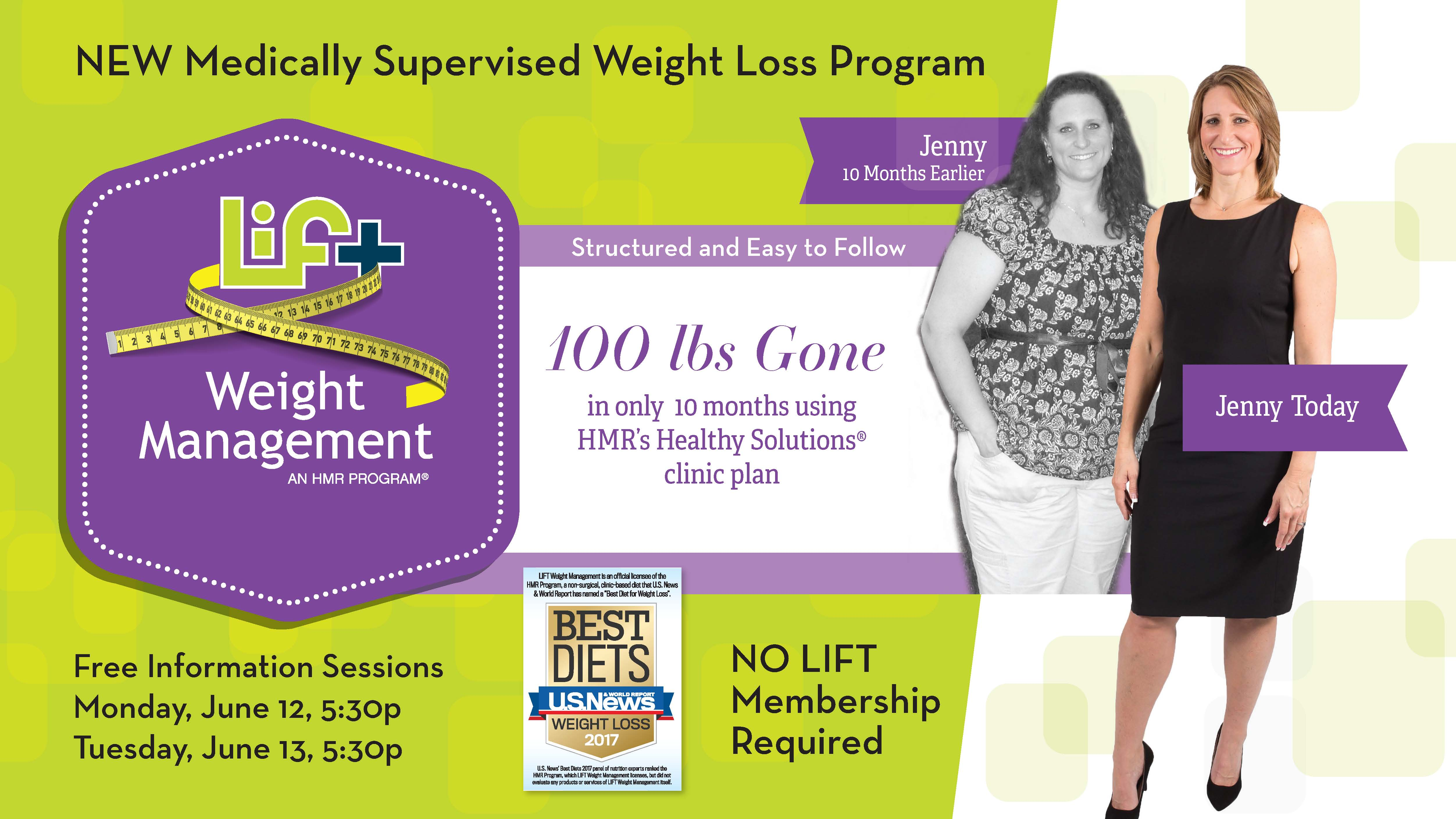 LIFT Weight Management Information Session