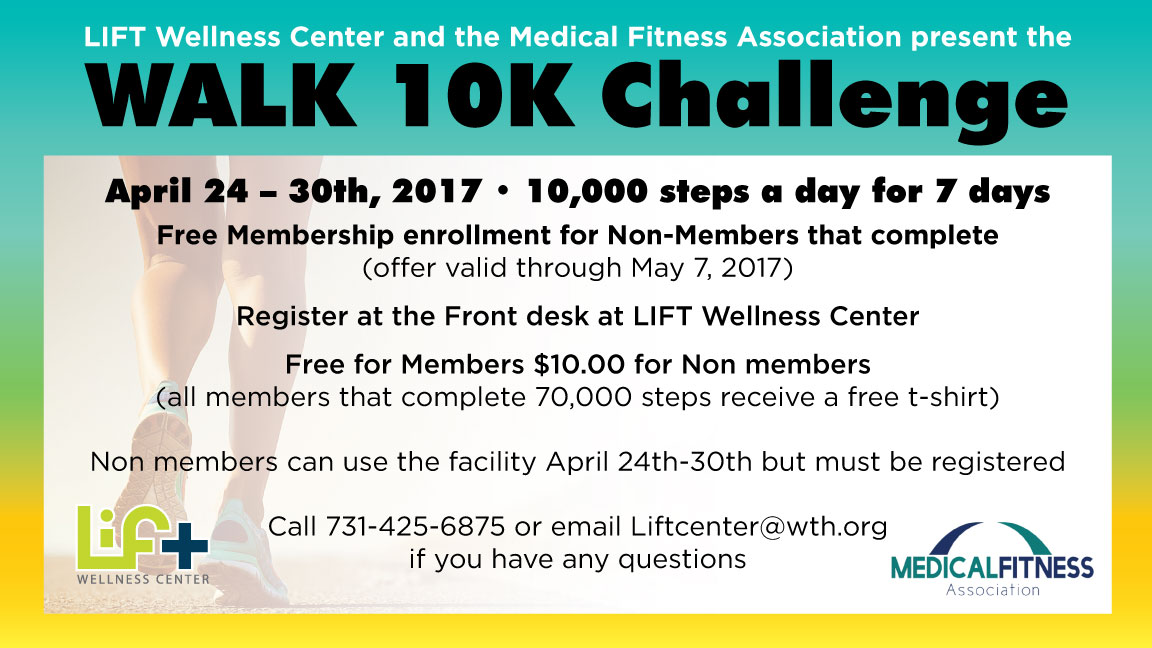 Medical Fitness Week: 10K Step Challenge
