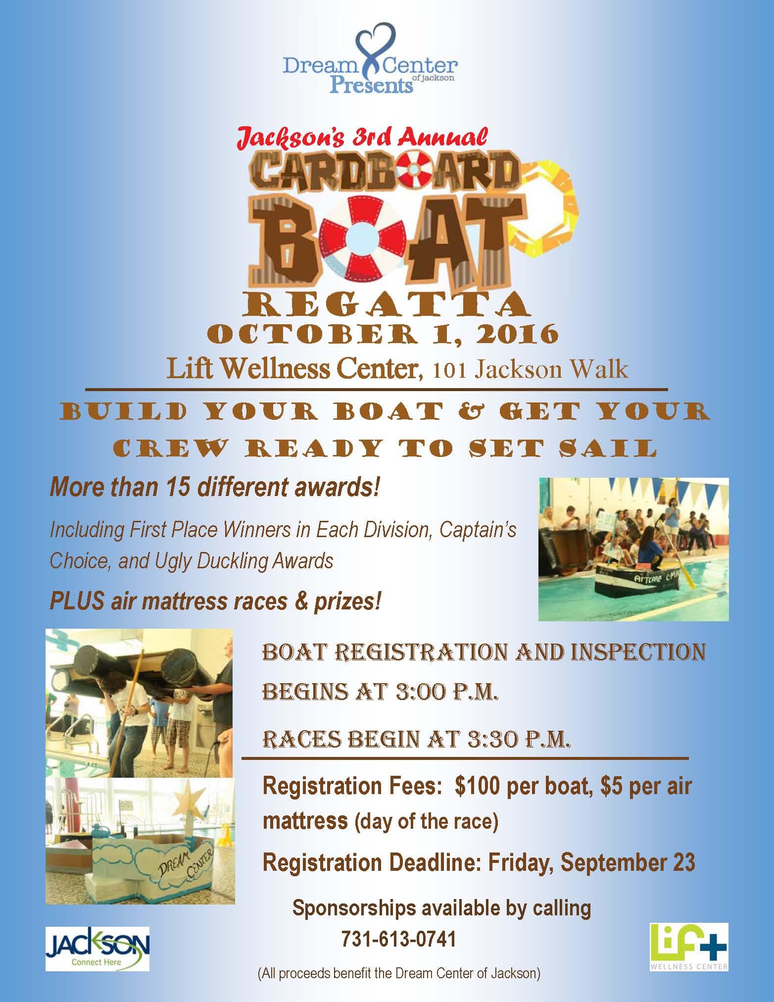 The Dream Center Cardboard Boat Regatta