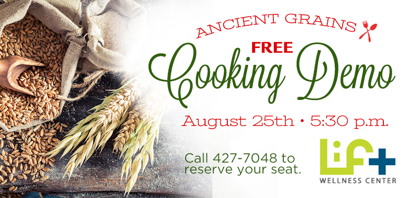 Ancient Grains Cooking Demo