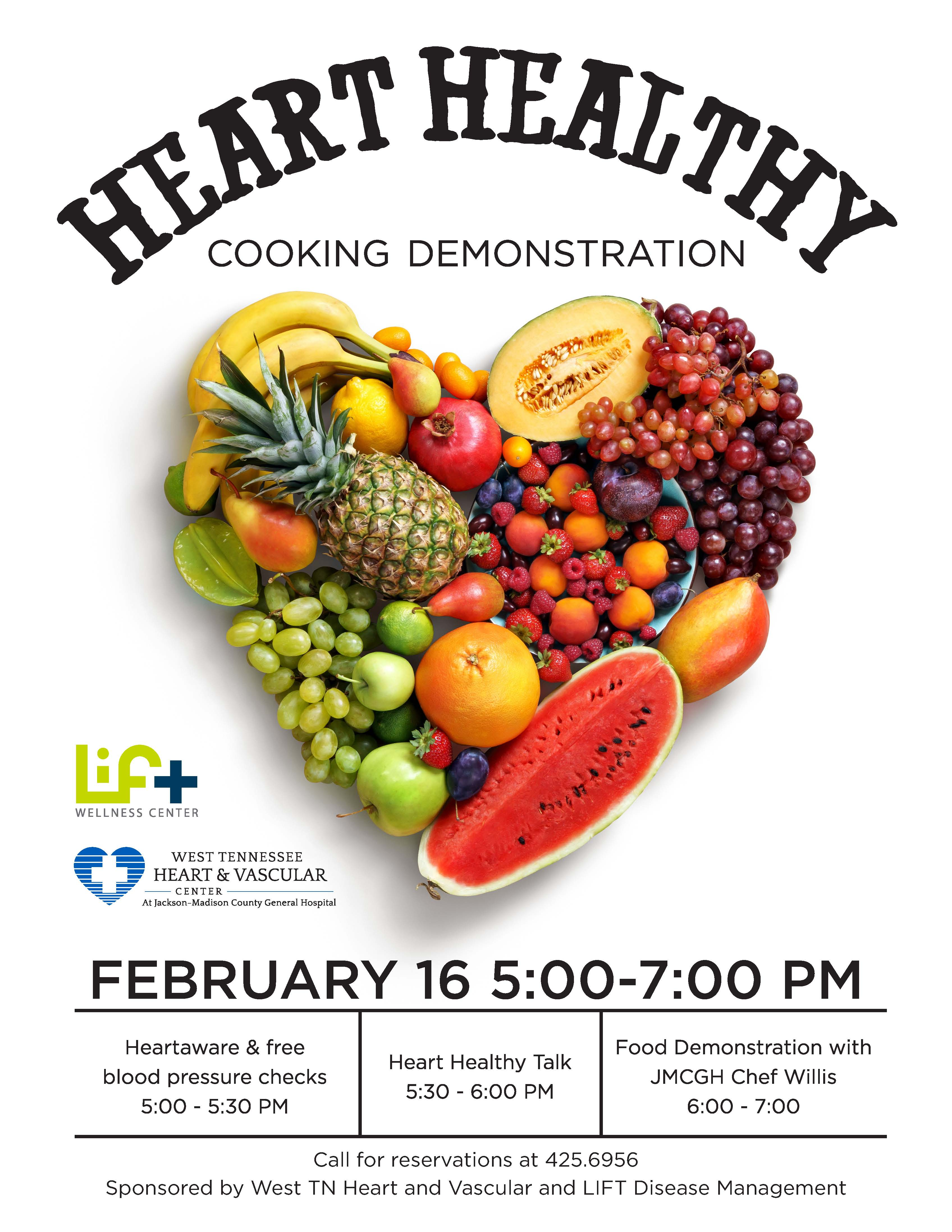 Heart Healthy Food Demo - The LIFT