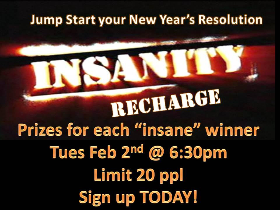 Insanity Recharge