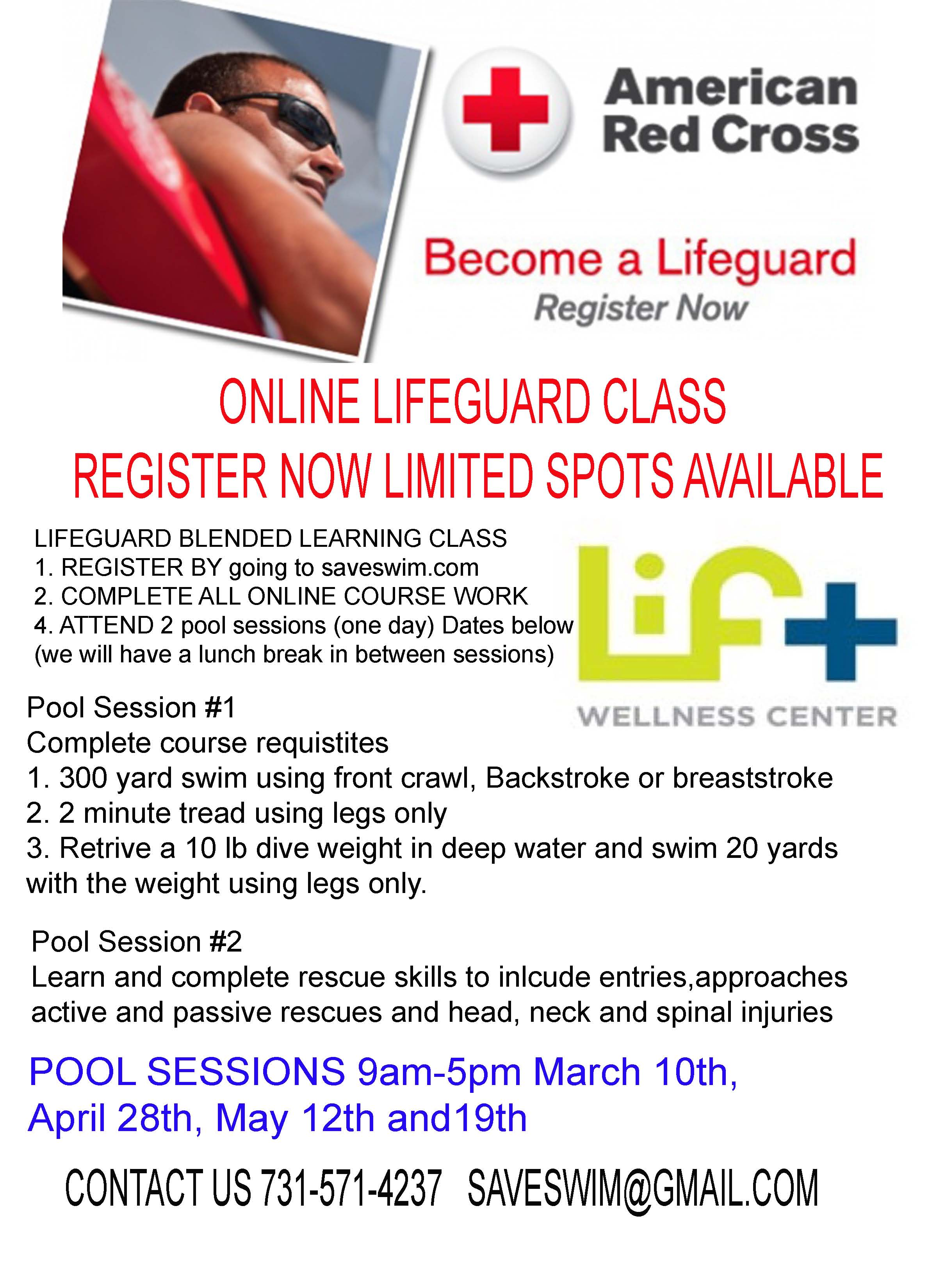red cross lifeguarding test study guide Description: the american red cross lifeguarding course is designed to teach skills and knowledge to prevent, recognize, and respond to aquatic emergencies and to provide care for breathing and cardiac emergencies, injuries and sudden illnesses until emergency medical services take over.