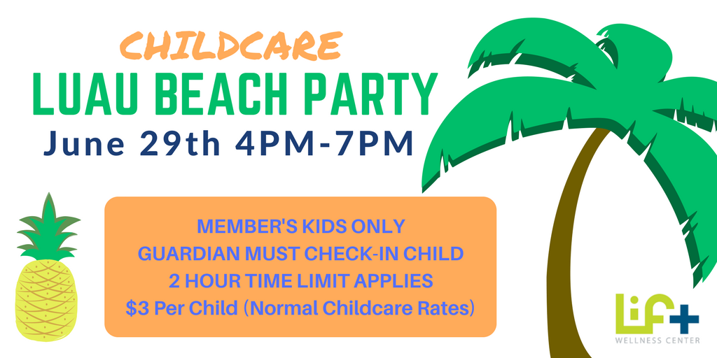 Childcare Luau Beach Party