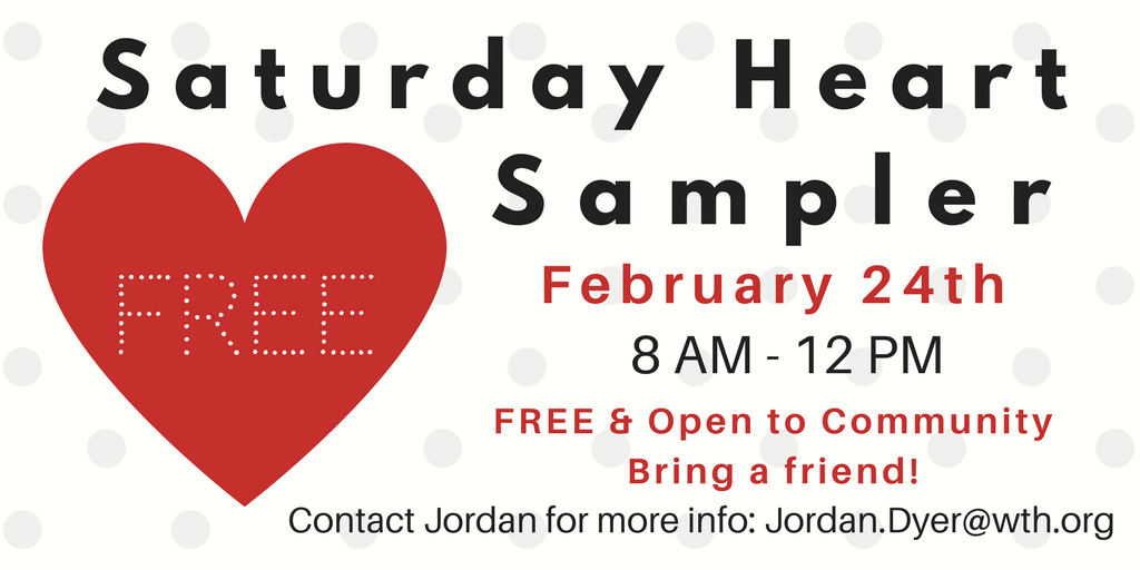 Saturday Heart Sampler