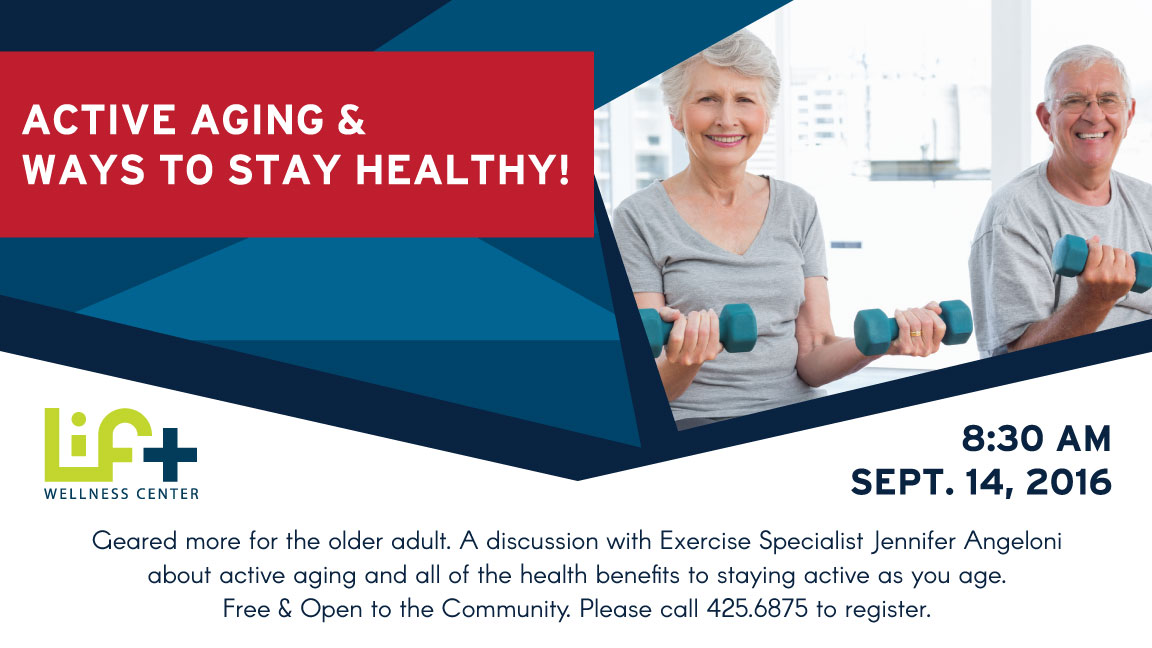 Active Aging & Ways to Stay Healthy