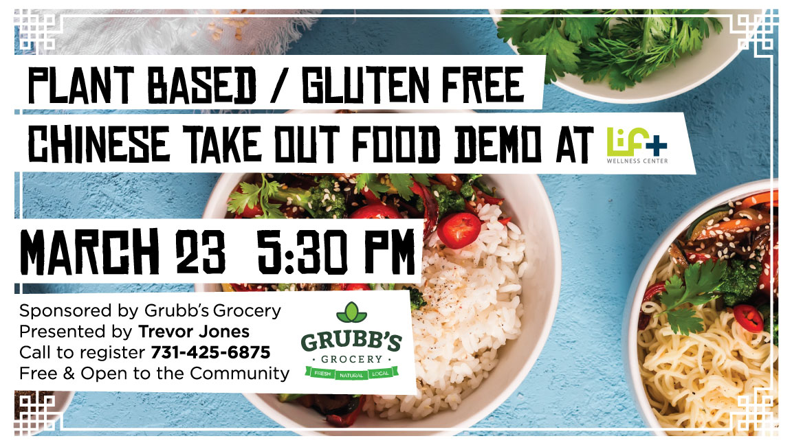 Plant Based/Gluten Free Chinese Take Out Food Demo