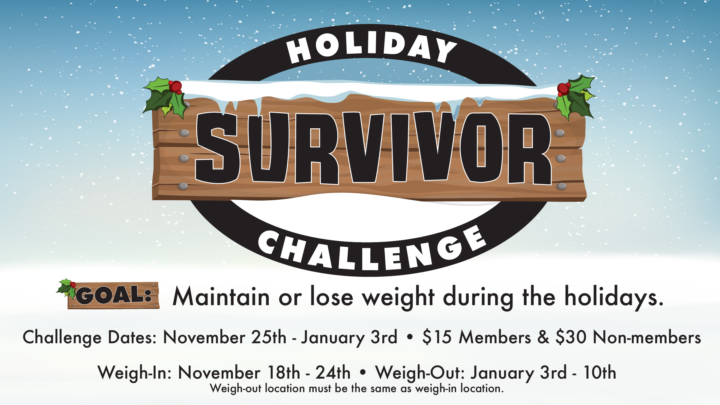 Holiday Survivor