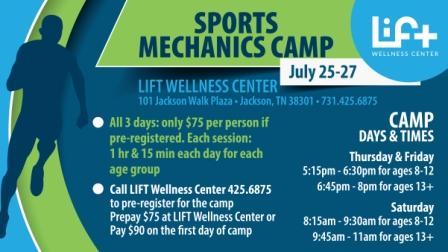 Sports Mechanics Camp