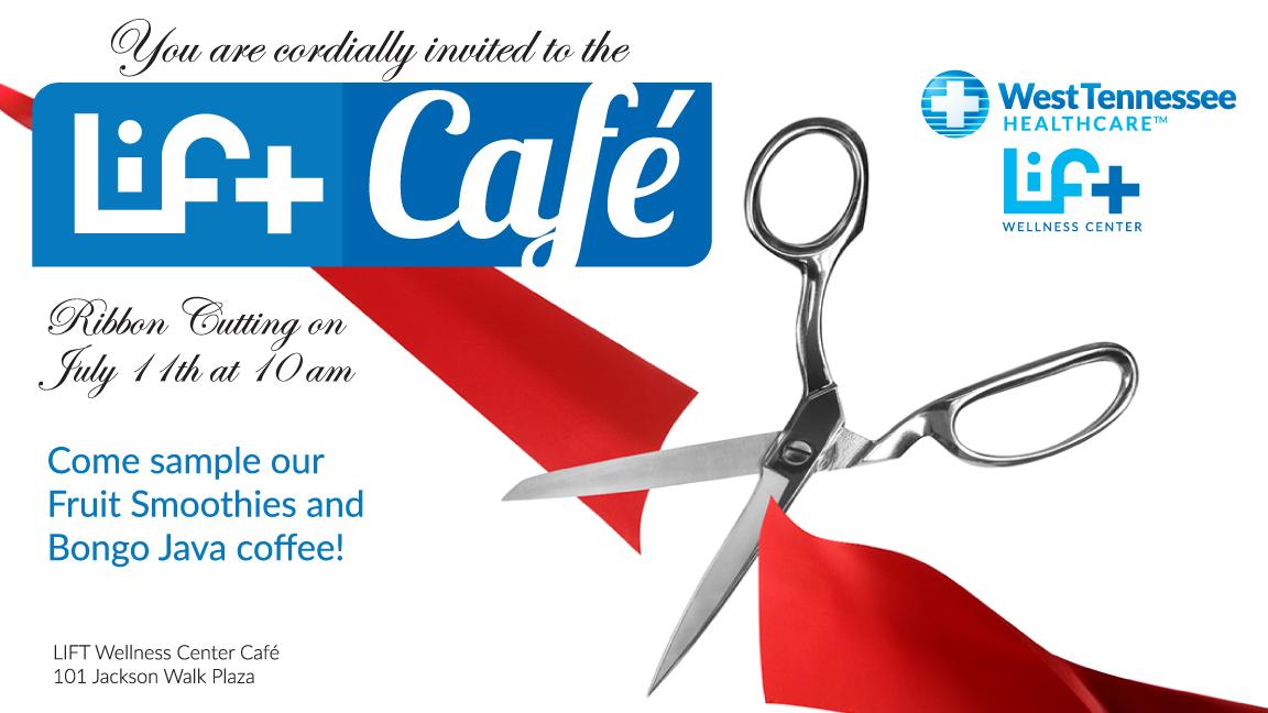 LIFT Cafe Ribbon Cutting