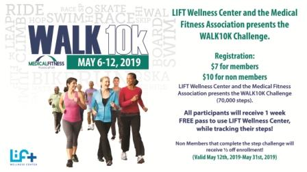 Medical Fitness Week WALK10K Challenge